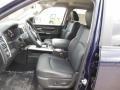 Front Seat of 2013 1500 Laramie Quad Cab 4x4