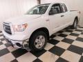 2013 Super White Toyota Tundra TRD Double Cab  photo #3