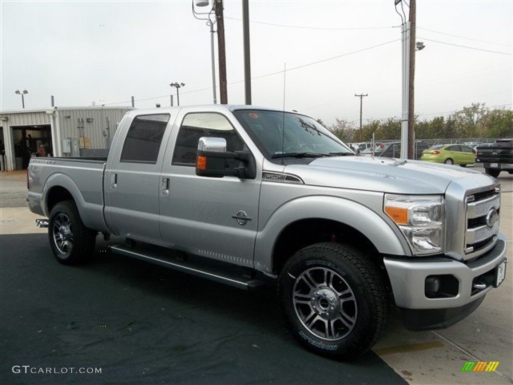 ingot silver metallic 2013 ford f250 super duty platinum. Black Bedroom Furniture Sets. Home Design Ideas