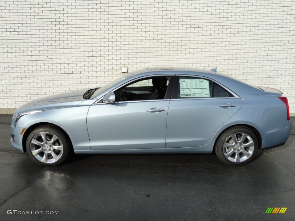 2013 glacier blue metallic cadillac ats 2 0l turbo luxury awd 74307695 photo 7. Black Bedroom Furniture Sets. Home Design Ideas