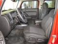 Ebony/Pewter Front Seat Photo for 2009 Hummer H3 #74322844
