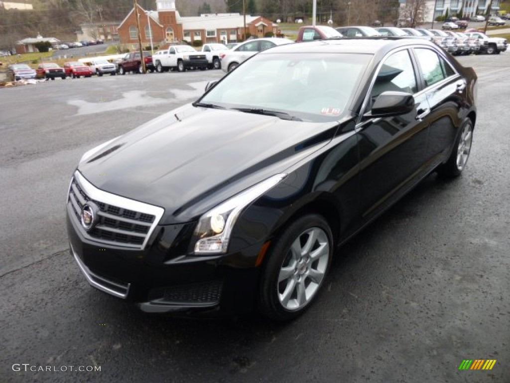 Black Raven 2013 Cadillac Ats 2 0l Turbo Awd Exterior Photo 74323730