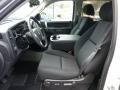 2012 Chevrolet Silverado 1500 Ebony Interior Front Seat Photo