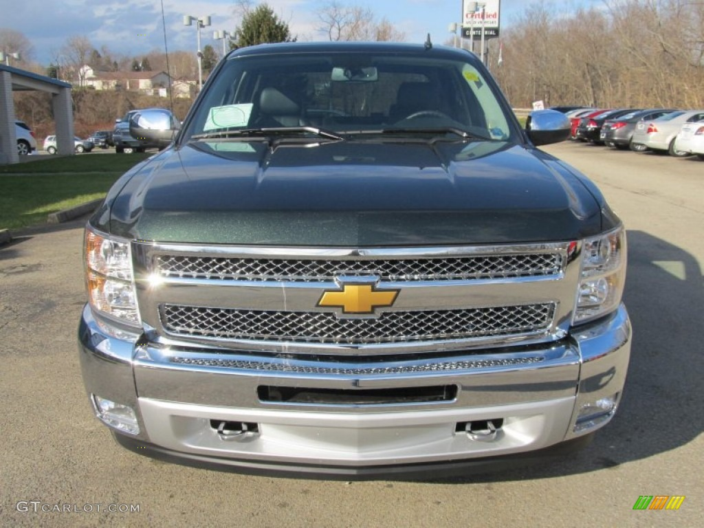 2013 Silverado 1500 LT Crew Cab 4x4 - Fairway Metallic / Ebony photo #11
