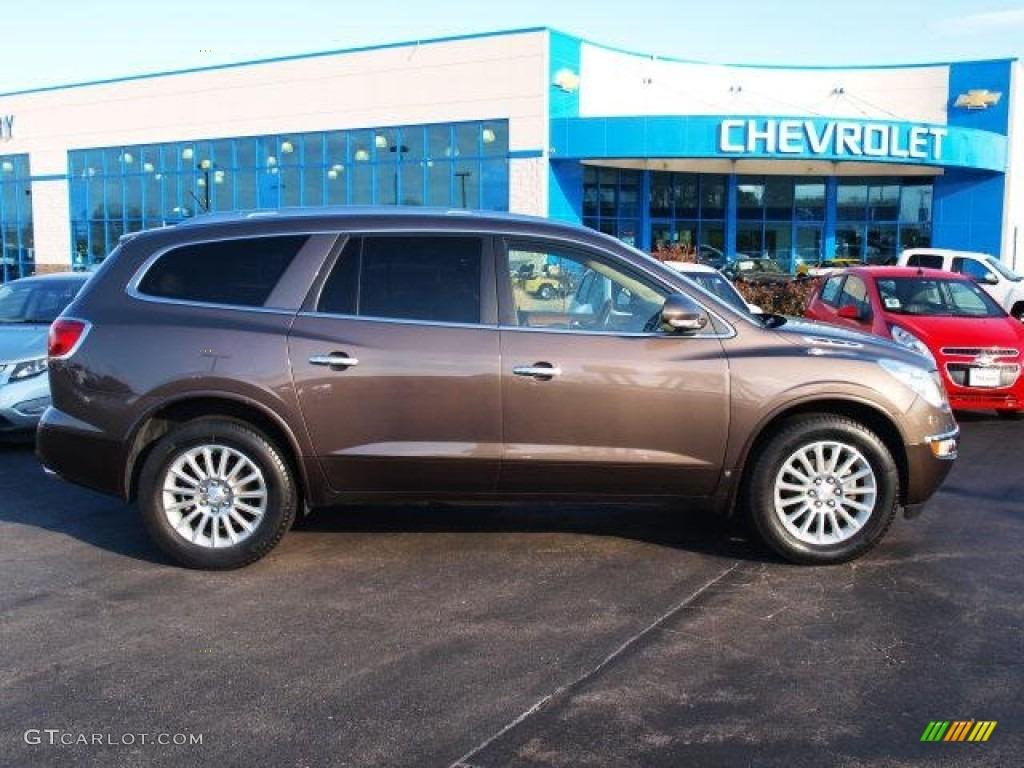 2009 Enclave CXL - Cocoa Metallic / Cocoa/Cashmere photo #1