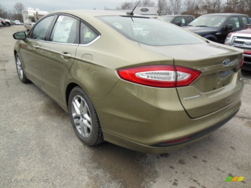 Ginger Ale Metallic 2013 Ford Fusion Se Exterior Photo 74341199