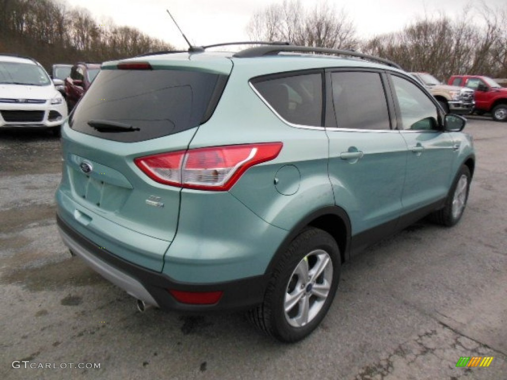 Frosted Glass Metallic 2013 Ford Escape Se 1 6l Ecoboost 4wd Exterior Photo 74342989