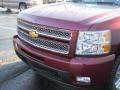 2013 Deep Ruby Metallic Chevrolet Silverado 1500 LTZ Extended Cab 4x4  photo #6