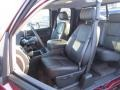 Ebony Front Seat Photo for 2013 Chevrolet Silverado 1500 #74348891