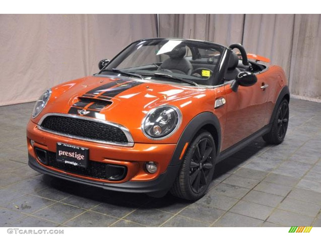 2013 spice orange metallic mini cooper s roadster 74307479 car color galleries. Black Bedroom Furniture Sets. Home Design Ideas
