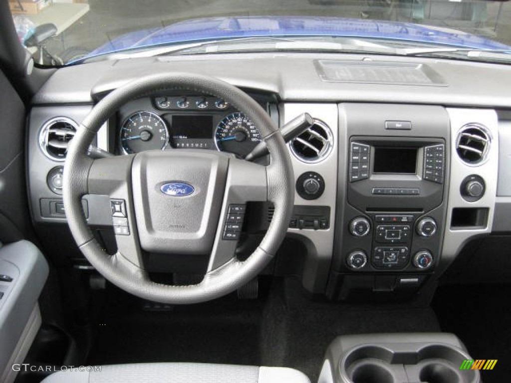 2013 F150 Platinum >> 2013 Ford F150 XLT SuperCrew 4x4 Steel Gray Dashboard ...