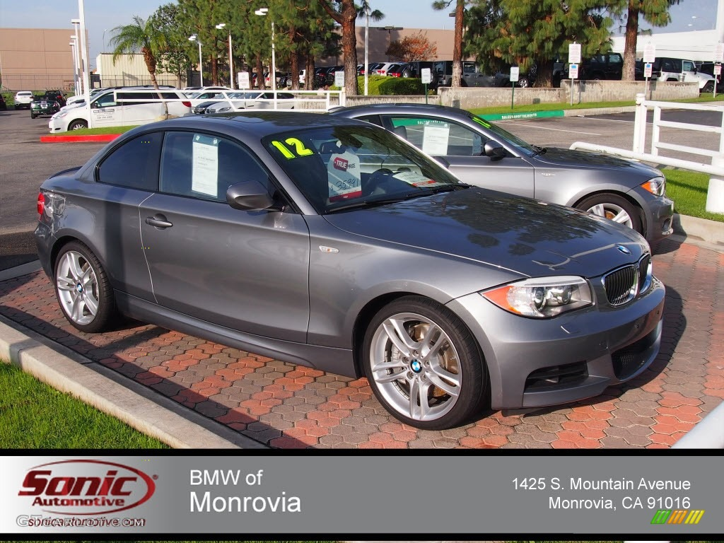 2012 Space Grey Metallic BMW 1 Series 135i Coupe 74369027