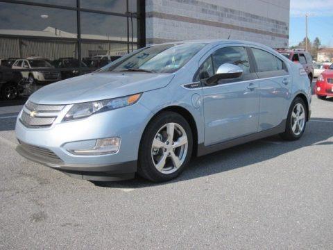 2013 Chevrolet Volt  Data, Info and Specs
