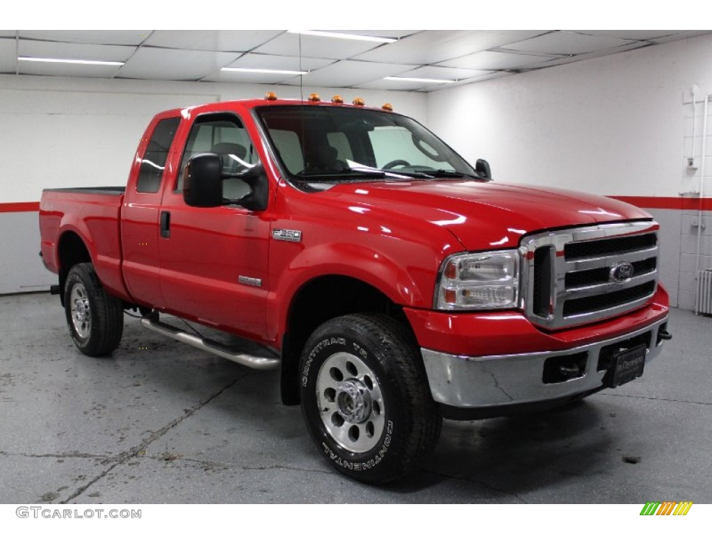 red clearcoat 2006 ford f350 super duty xlt supercab 4x4 exterior photo 74393135. Black Bedroom Furniture Sets. Home Design Ideas