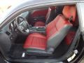 Radar Red/Dark Slate Gray Front Seat Photo for 2013 Dodge Challenger #74394362