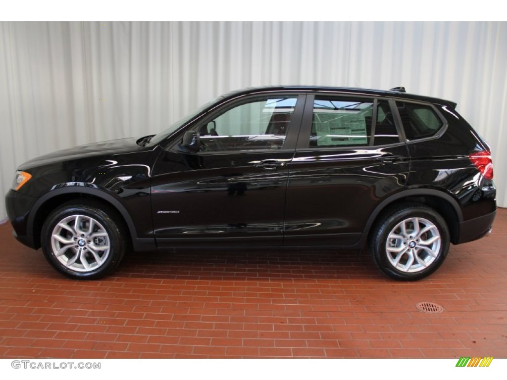 jet black 2013 bmw x3 xdrive 35i exterior photo 74402302. Black Bedroom Furniture Sets. Home Design Ideas
