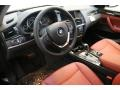 2013 BMW X3 Chestnut Interior Prime Interior Photo