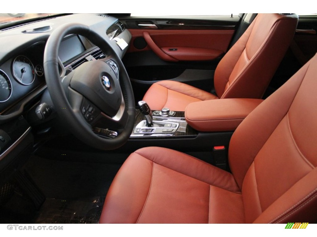 Chestnut Interior 2013 BMW X3 XDrive 35i Photo 74402396