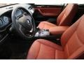 2013 BMW X3 Chestnut Interior Front Seat Photo