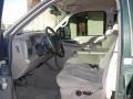 2001 Ford F250 Super Duty Medium Parchment Interior Front Seat Photo