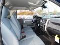 2013 1500 Express Regular Cab 4x4 Black/Diesel Gray Interior