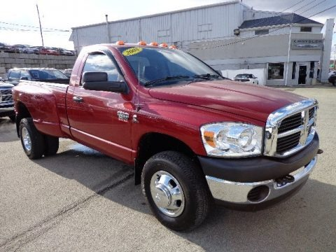 2008 Dodge Ram 3500 ST Regular Cab 4x4 Dually Data, Info and Specs
