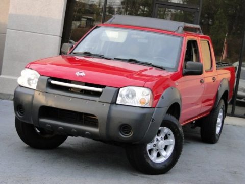 2001 nissan frontier xe v6 crew cab data info and specs. Black Bedroom Furniture Sets. Home Design Ideas