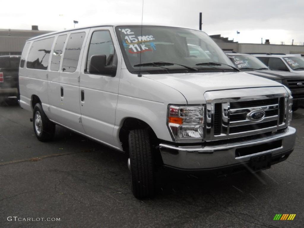 White Passenger Van 2012 Oxford Whi...