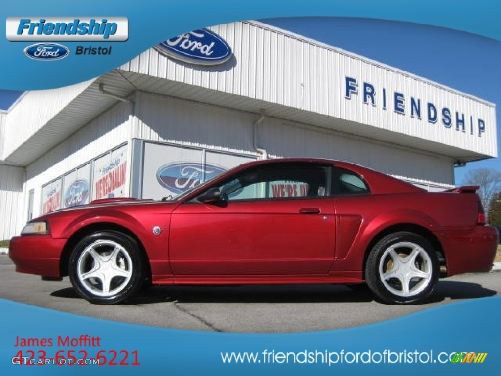2004 Redfire Metallic Ford Mustang GT Coupe #74368785 ...
