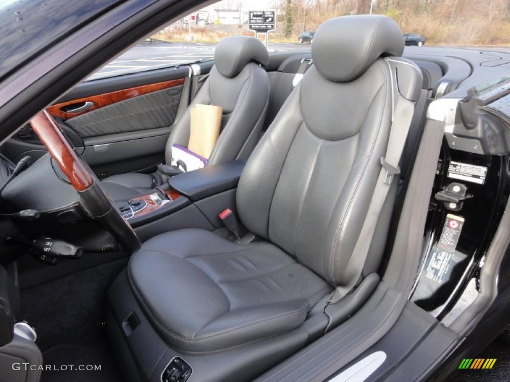 2005 Mercedes Benz Sl 600 Roadster Interior Color Photos