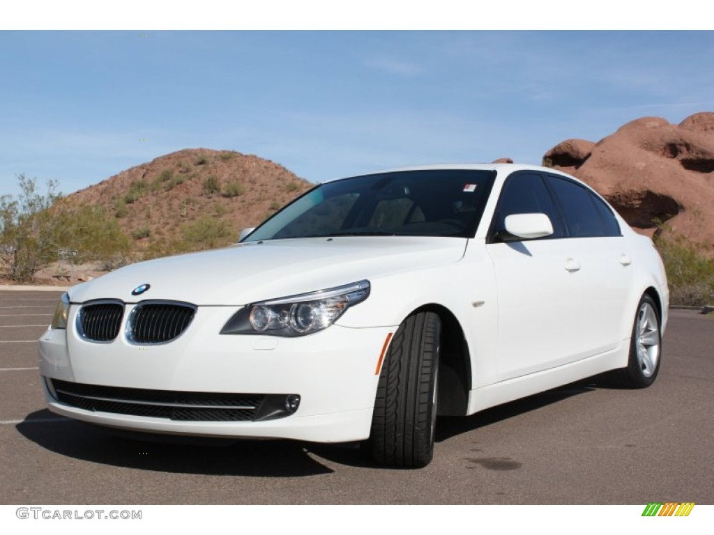 Alpine white 2009 bmw 5 series 528i sedan exterior photo 74446762 gtcarlot com