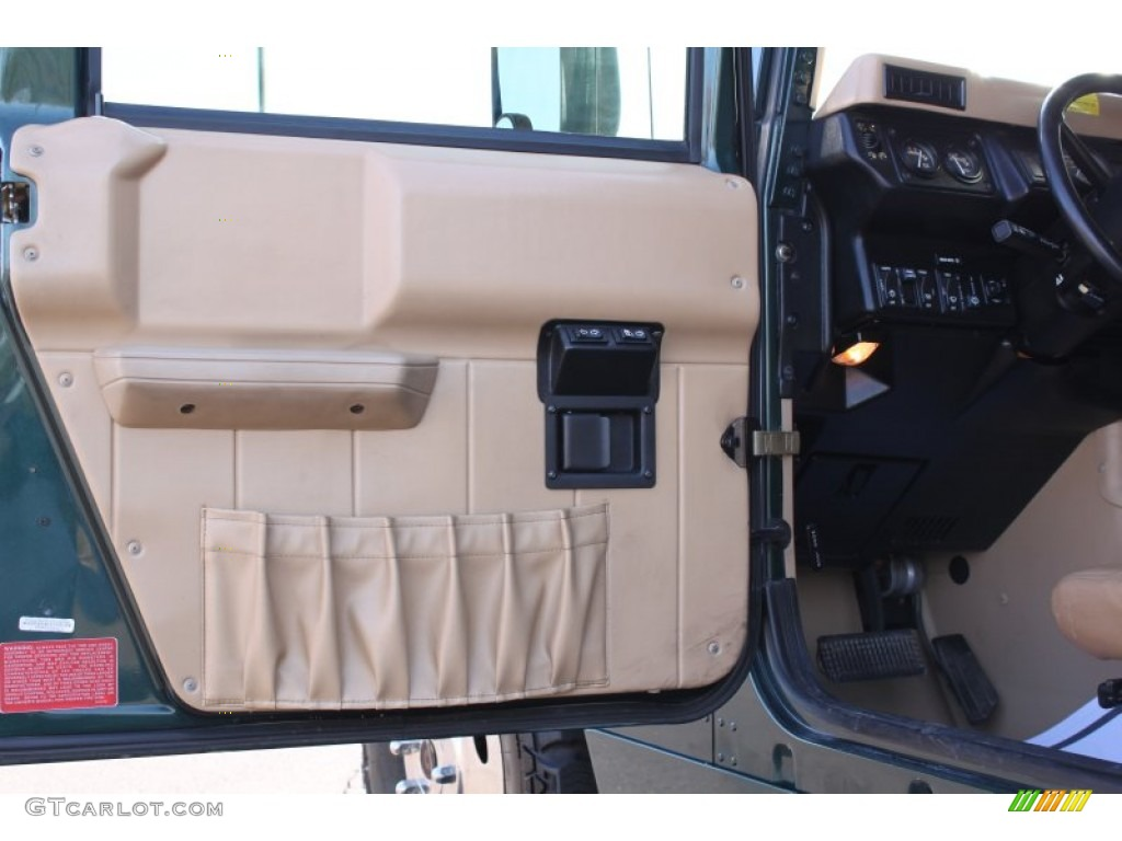 Service Manual 1999 Hummer H1 Front Door Panel Removal