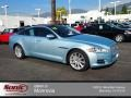 2012 Crystal Blue Metallic Jaguar XJ XJ #74434070