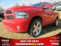 Flame Red 2013 Ram 1500 R/T Regular Cab