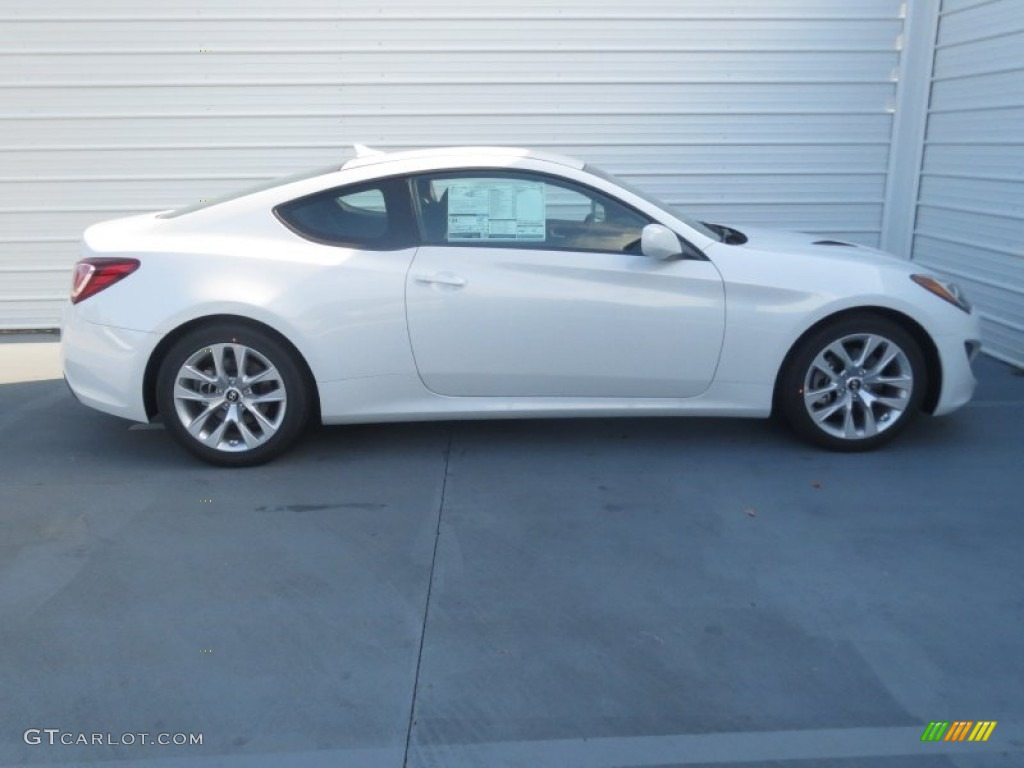 White Satin Pearl 2013 Hyundai Genesis Coupe 2 0t Exterior Photo 74479253 Gtcarlot Com