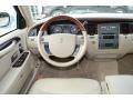 2008 Lincoln Town Car Light Camel Interior Dashboard Photo
