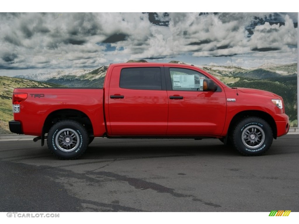 Radiant Red 2013 Toyota Tundra TRD Rock Warrior CrewMax 4x4 Exterior Photo #74498222