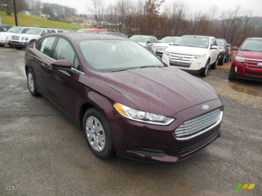 Bordeaux Reserve Red Metallic 2013 Ford Fusion S Exterior Photo 74505545