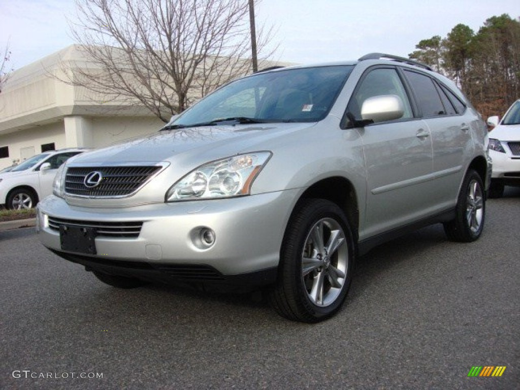millenium silver metallic 2006 lexus rx 400h awd hybrid exterior photo 74509366. Black Bedroom Furniture Sets. Home Design Ideas