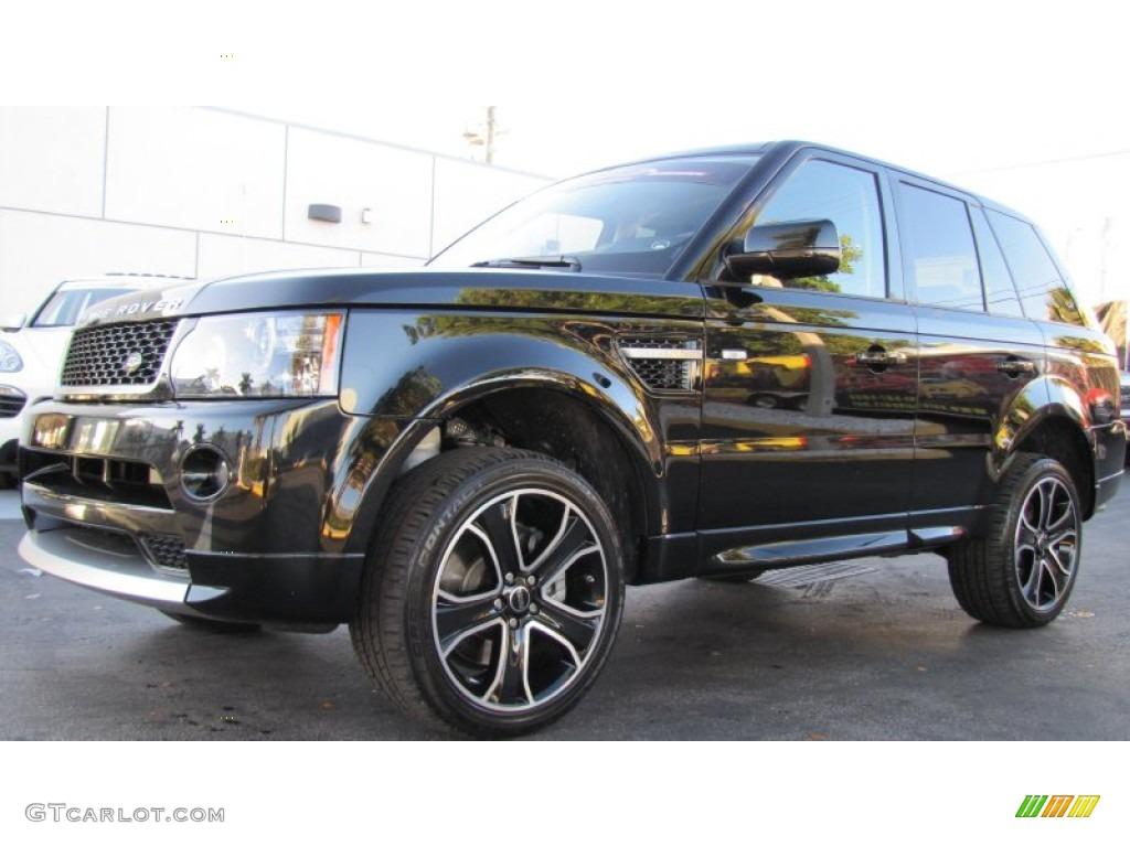 santorini black 2013 land rover range rover sport hse exterior photo 74515559. Black Bedroom Furniture Sets. Home Design Ideas