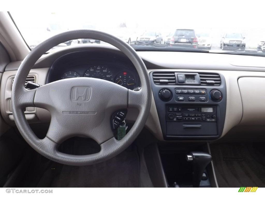 1999 honda accord lx v6 sedan ivory dashboard photo 74515798. Black Bedroom Furniture Sets. Home Design Ideas