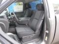 2013 Mocha Steel Metallic Chevrolet Silverado 1500 LT Regular Cab 4x4  photo #13