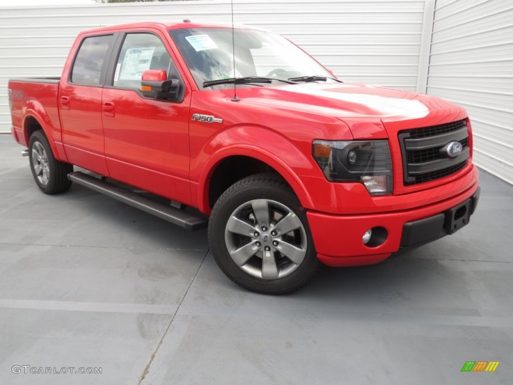 Ford F150 Colors >> 2013 Race Red Ford F150 FX2 SuperCrew #74489750 | GTCarLot.com - Car Color Galleries