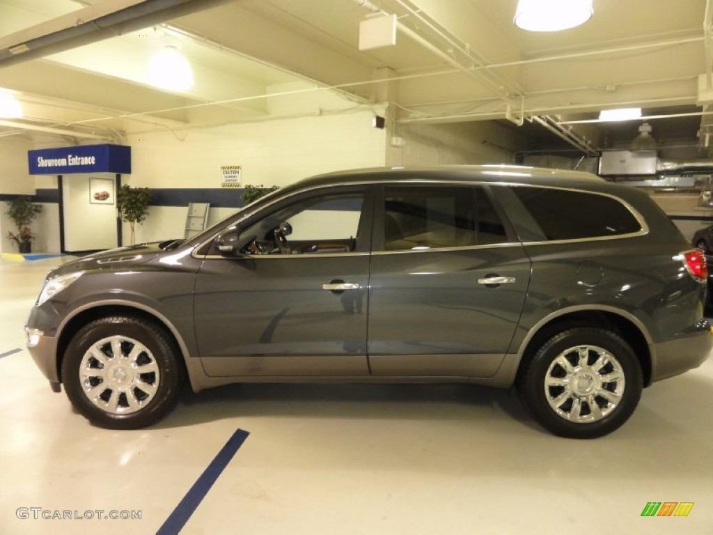 2011 Cyber Gray Metallic Buick Enclave Cxl 74489747 Photo 9 Car Color Galleries