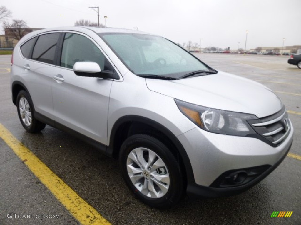 Alabaster Silver Metallic 2013 Honda Cr V Ex Awd Exterior Photo 74522534