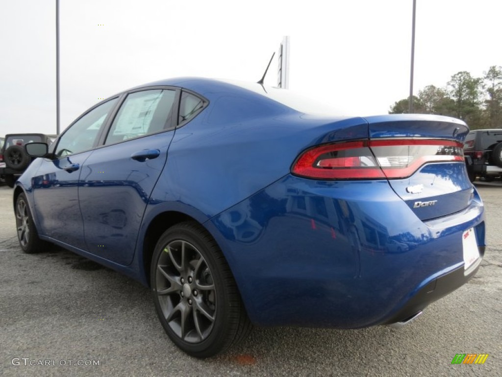 2013 blue streak pearl coat dodge dart rallye 74489735. Black Bedroom Furniture Sets. Home Design Ideas