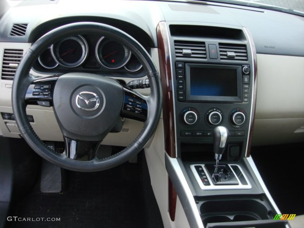 2008 Mazda CX9 Grand Touring AWD Sand Dashboard Photo 74526707