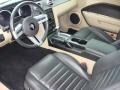 Dark Charcoal/Medium Parchment 2008 Ford Mustang Interiors