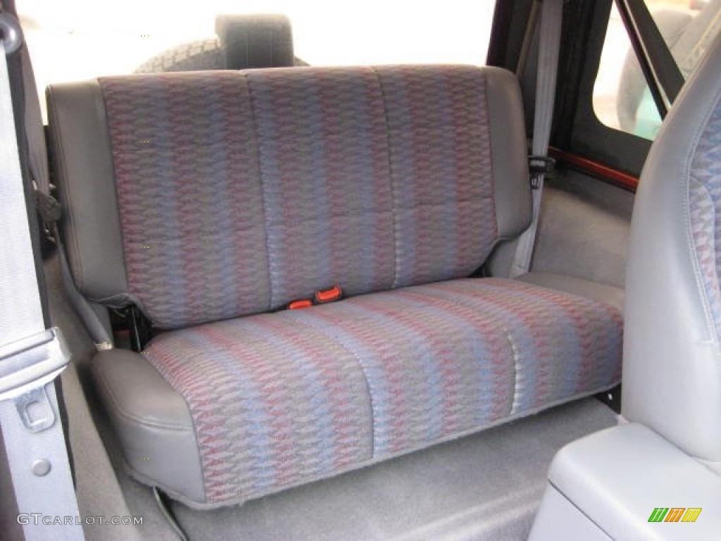 1998 jeep wrangler se 4x4 rear seat photo 74529034. Black Bedroom Furniture Sets. Home Design Ideas