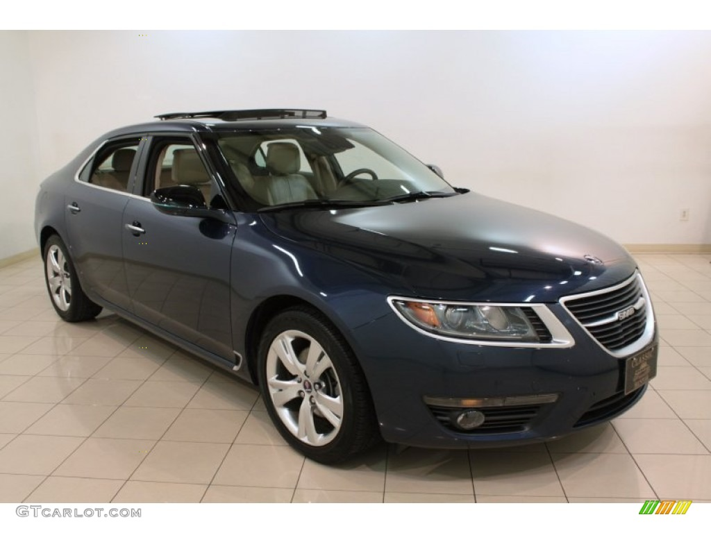 2011 fjord blue metallic saab 9 5 turbo4 premium sedan. Black Bedroom Furniture Sets. Home Design Ideas